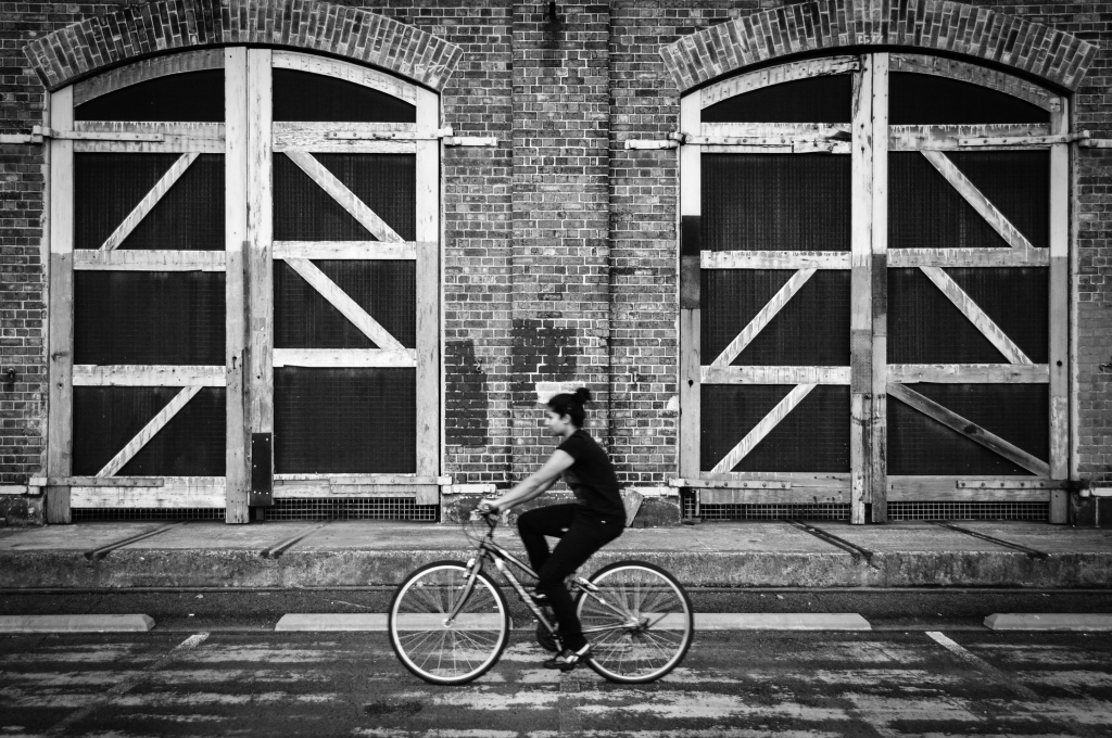 Carriageworks Cycle B&W