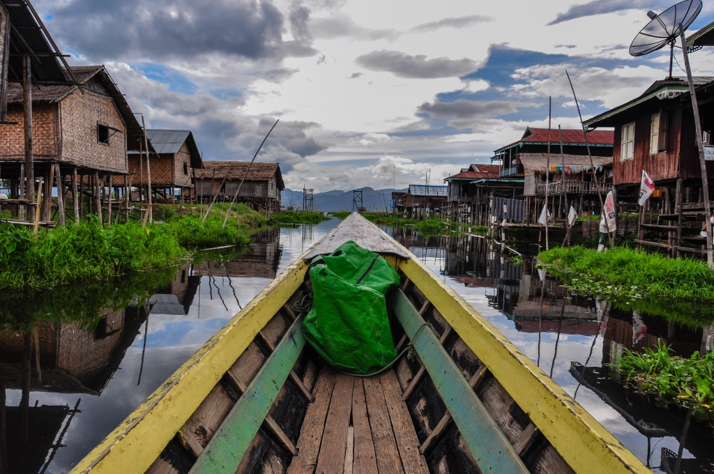 Floating Village on Inle Lake - Burma