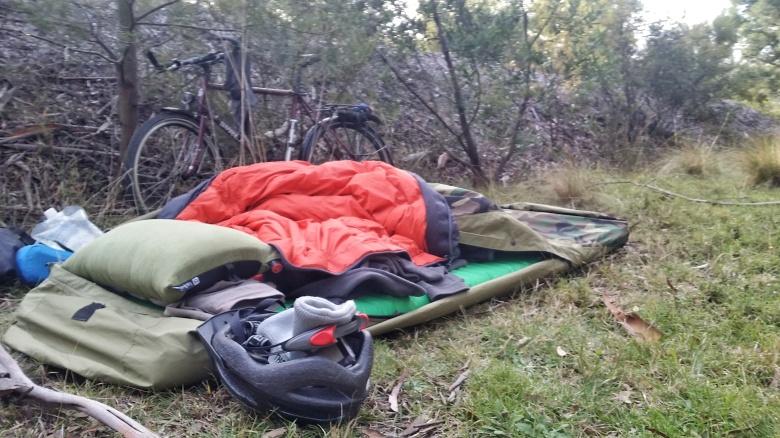 Camping outside Nerriga.